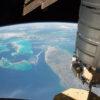Cygnus Above Florida, Bahamas and Cuba