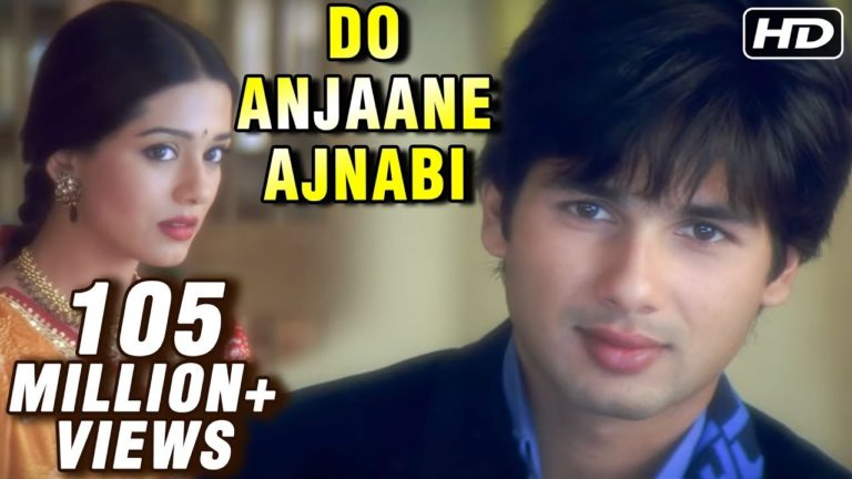 Do Anjaane Ajnabi - Vivah - Shahid Kapoor, Amrita Rao - Old Hindi Romantic Songs