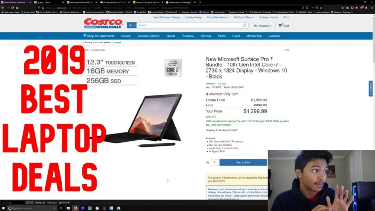 Best Black Friday/Holiday 2019 Laptop Deals!
