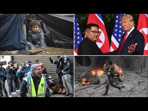 World news highlights in 2018
