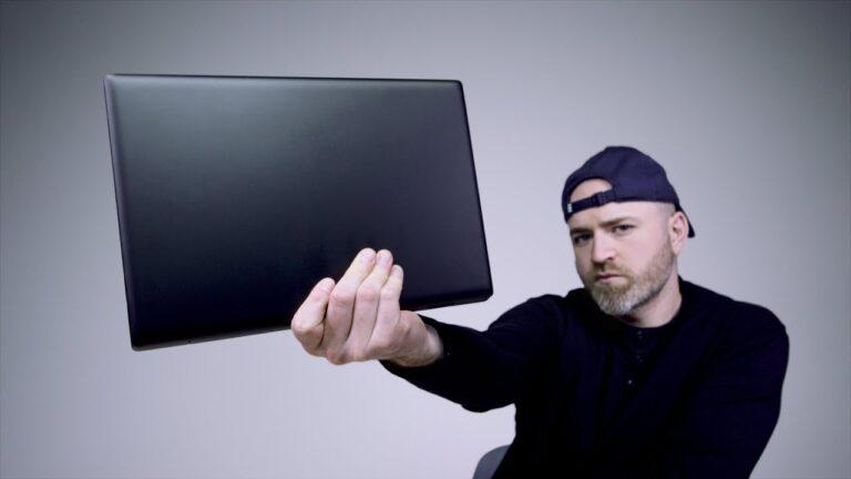 Unboxing Edward Snowden's Favorite Laptop
