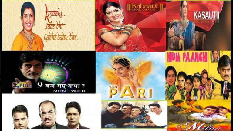 Top 20 Hindi TV Serials Of Ekta Kapoor-All Time Hit-Must Watch Full HD