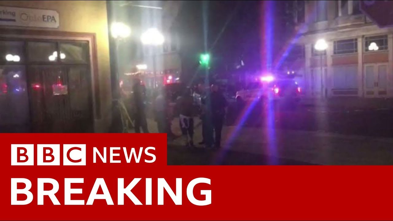 Dayton shooting: Nine confirmed killed, shooter also dead - BBC News