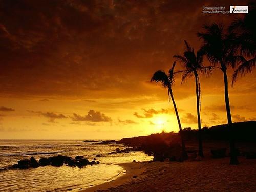 sunset hd image