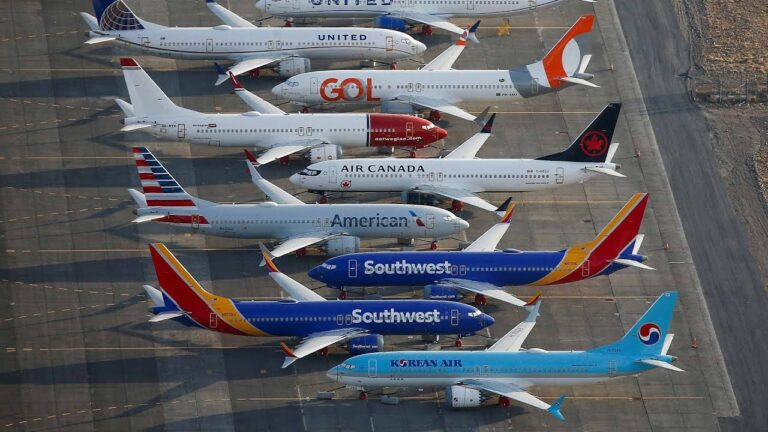 Boeing to suspend 737 Max production