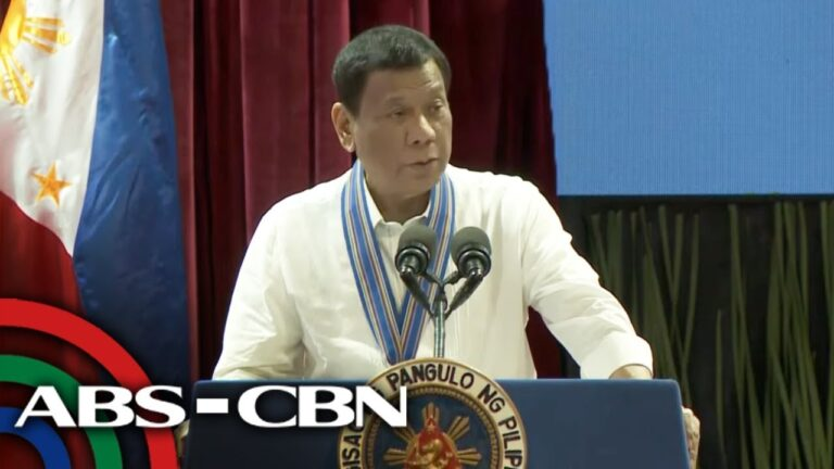 Pres. Duterte speaks at Philippine Air Force anniversary - 2 July 2019 | ABS-CBN News
