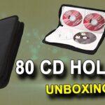 CD BAG - CD/DVD Holder  (80 CDs)  Unboxing in Hindi