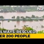 Choppers, Boats To Rescue Hundreds Stuck On Train Near Mumbai After Rain