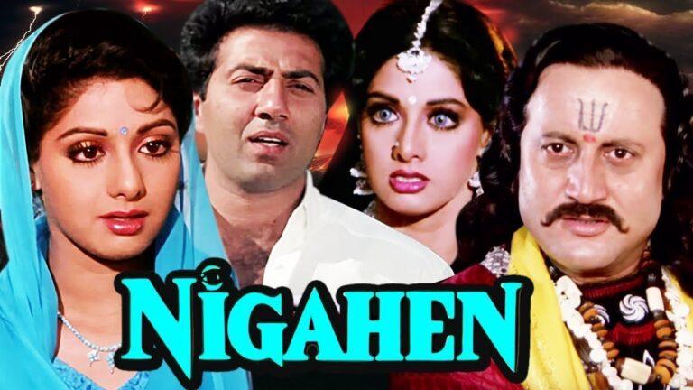 Nigahen Full Movie | Sridevi Hindi Movie | Sunny Deol Bollywood Movie