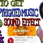 PAANO HINDI MA COPYRIGHT SA MUSIC AND SOUND EFFECTS Paano mag download ng libre | #TAGALOGTutorial