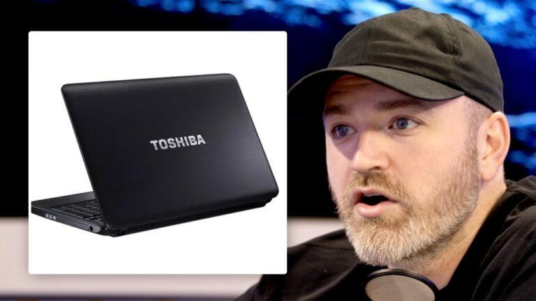 RIP Toshiba Laptops
