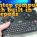 A palmtop computer with integrated game controller - GPD gamepad digital