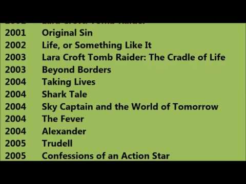 Angelina Jolie Movies List