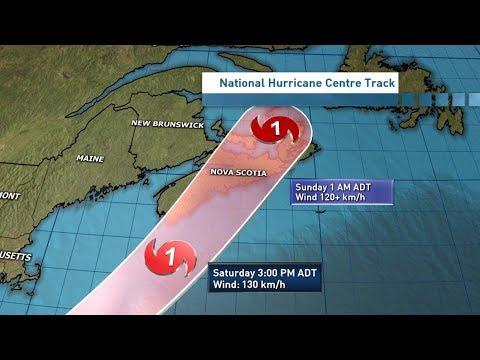 Atlantic Canada braces for Hurricane Dorian