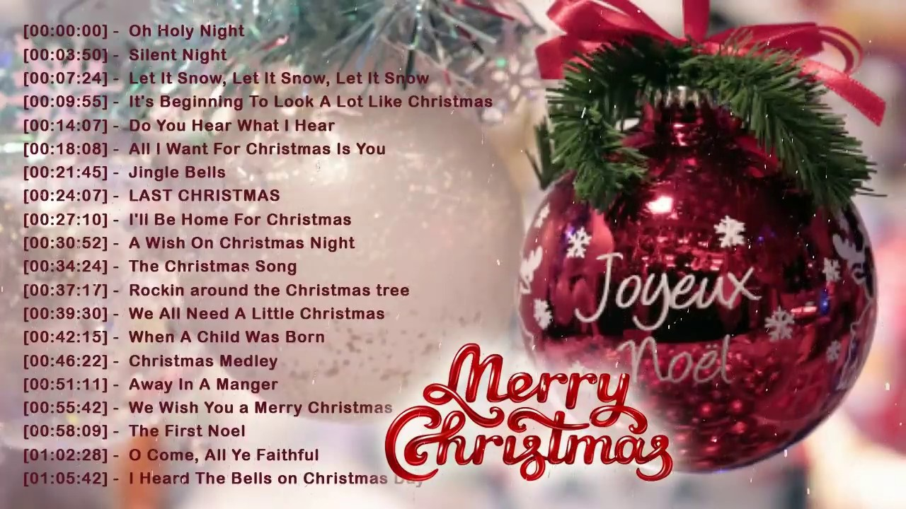 Best Christmas Songs 2018 - Traditional English Christmas Songs Of All Time