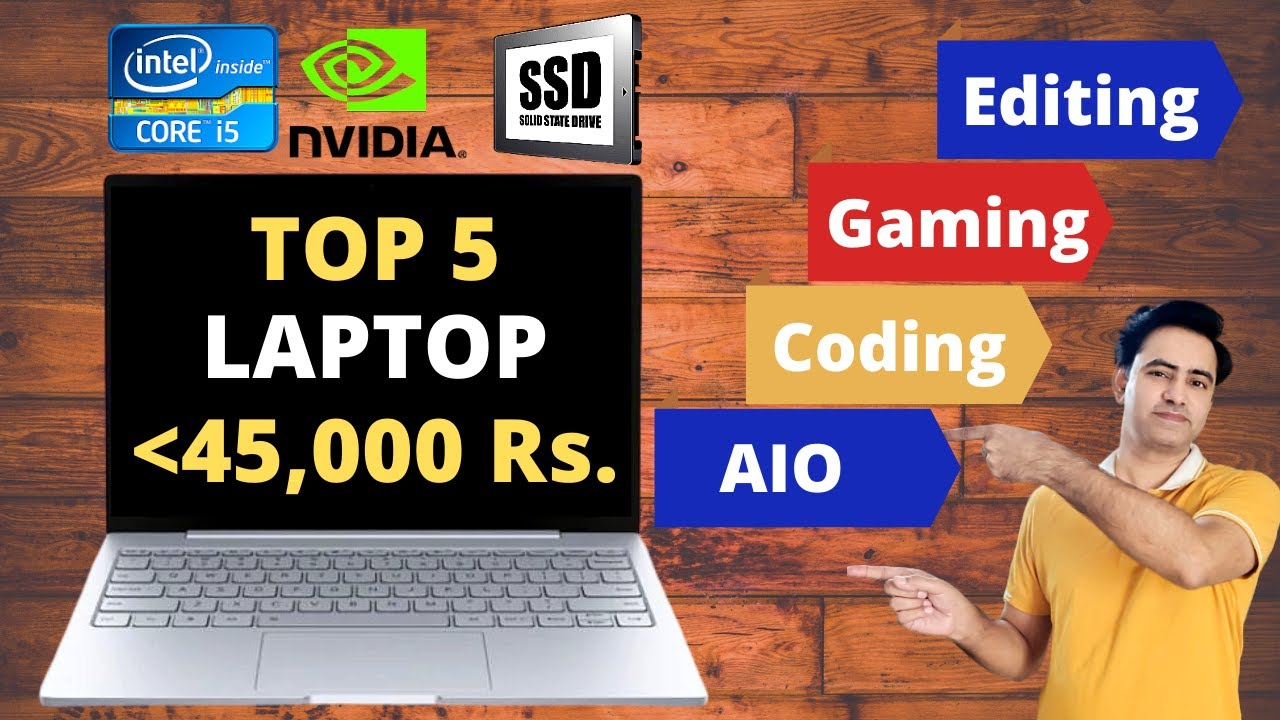 Best Laptop Under 45000 | Core i5 | 8GB Ram | SSD | Graphic Card | Editing | Gaming | Coding | 2020