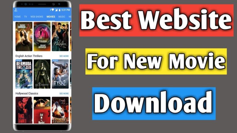 Best site For movie Download on android Computer Laptop in Hindi || Movie Kaise Download Kare