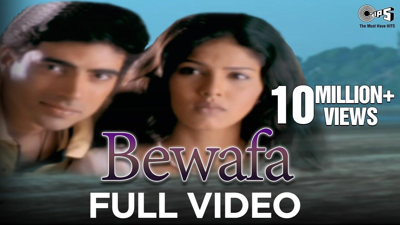 Bewafa - Video Song   Hindi Album Songs   Evergreen Bollywood Sad Song