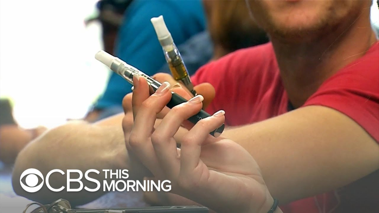 CDC warns consumers to stop smoking e-cigarettes after lung illnesses rise