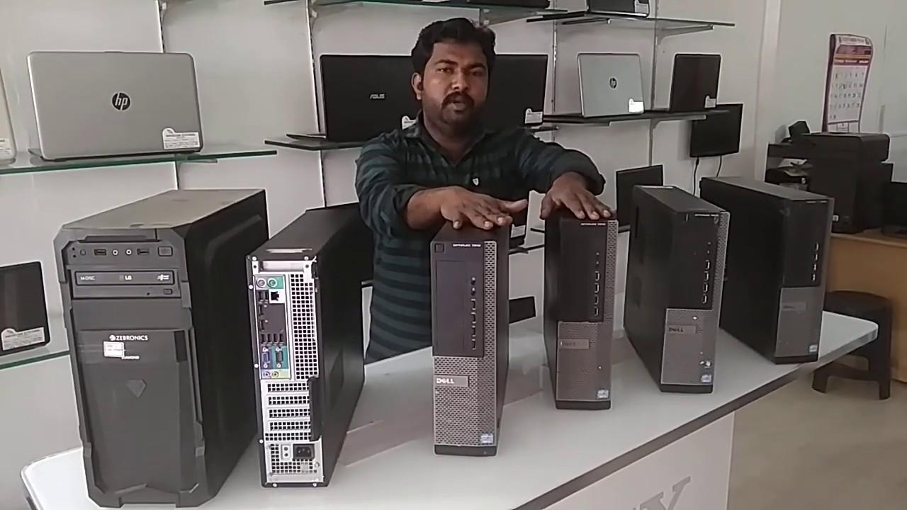 Dell 7010 Modal Intel Core i7 Desktop Cpu sales / Used desktop sales in Coimbatore