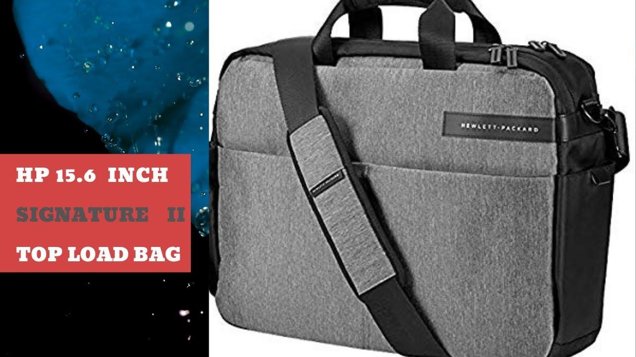 HP 15.6 inch signature 2 top load laptop messenger bag