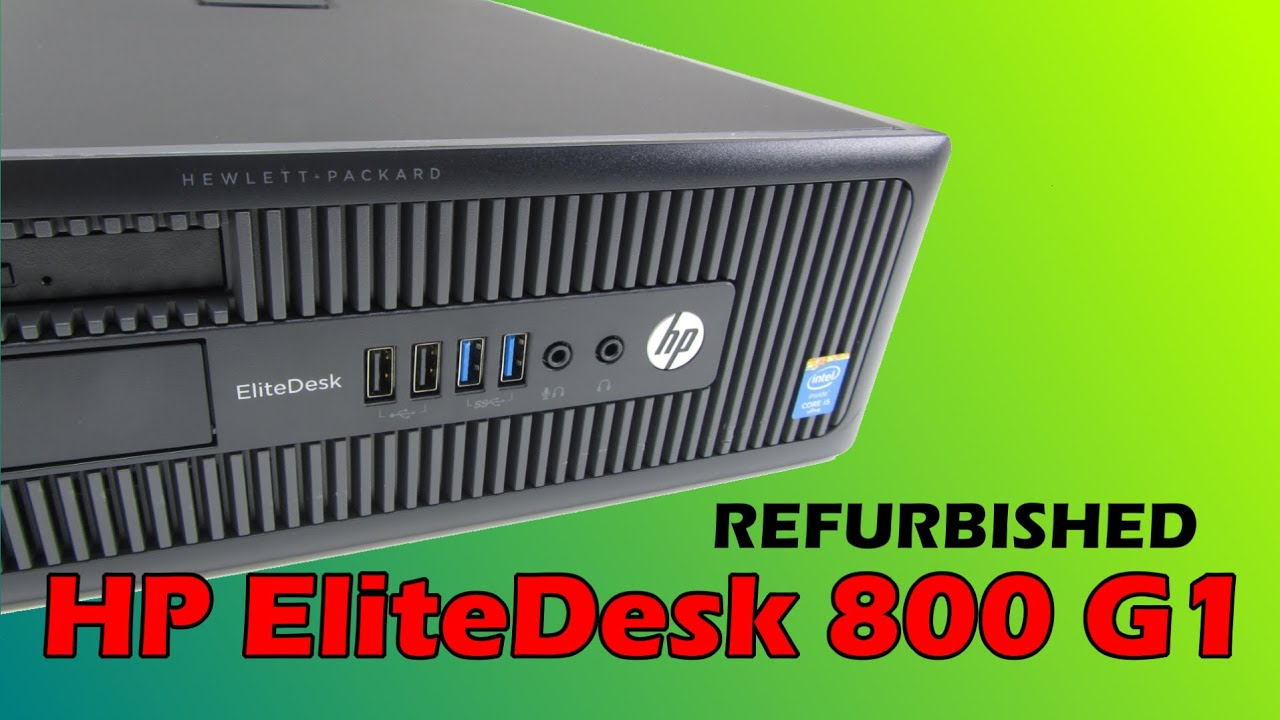 HP EliteDesk 800 G1 SFF Preview A class Refurbished
