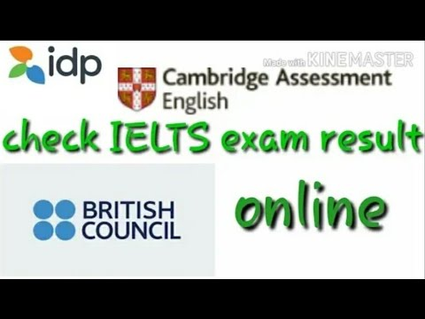How to check ielts exam result online /idp/British council