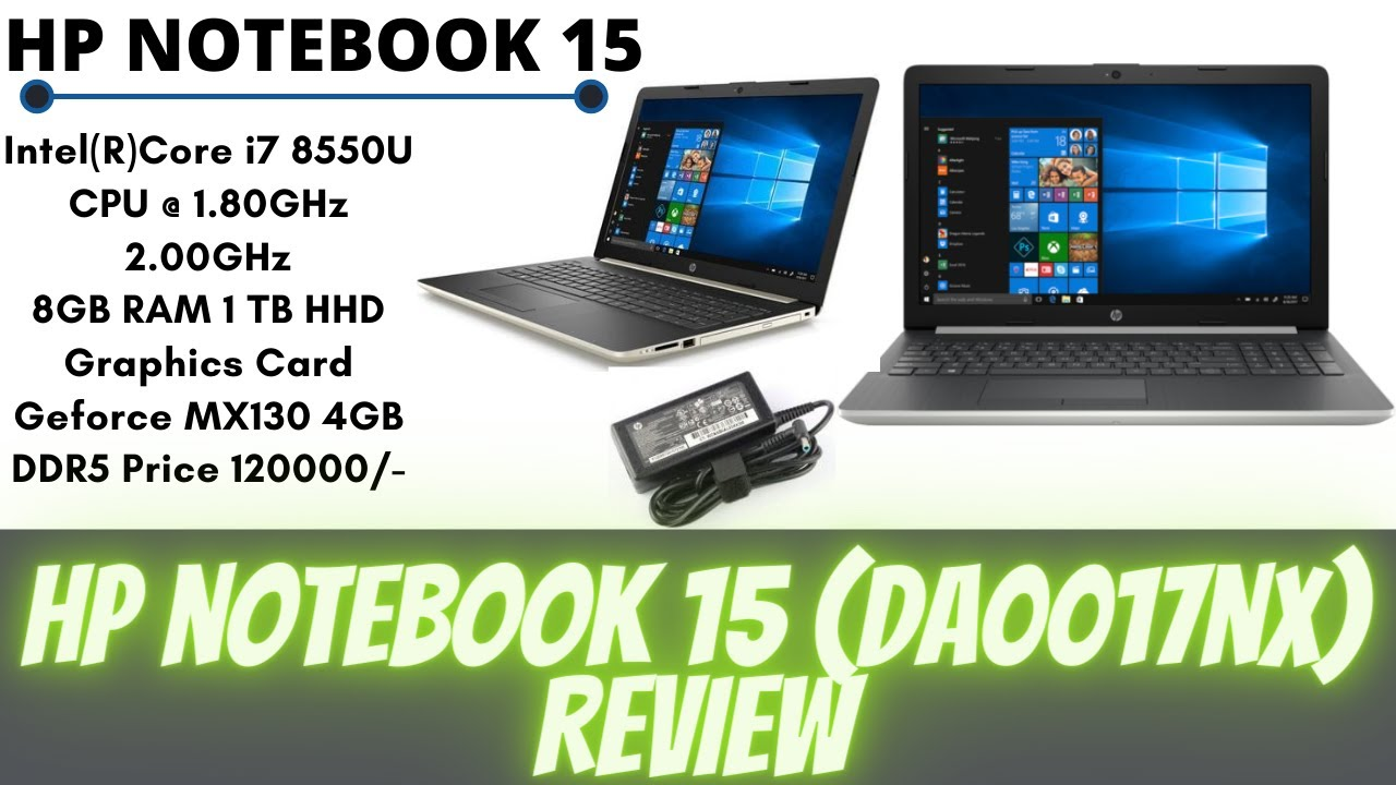 Hp Notebook 15 da0017nx Review | Specs Price or Full Detail.