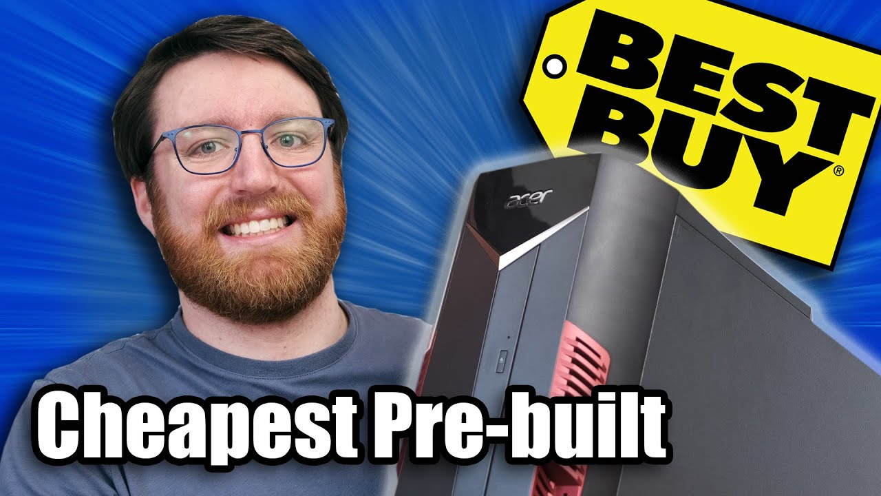"""I bought the cheapest """"Gaming"""" pre-built PC from Best Buy"""
