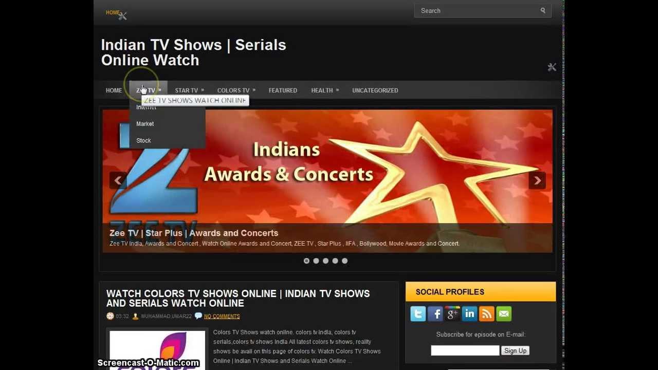 Indian TV Shows Serials Online Watch