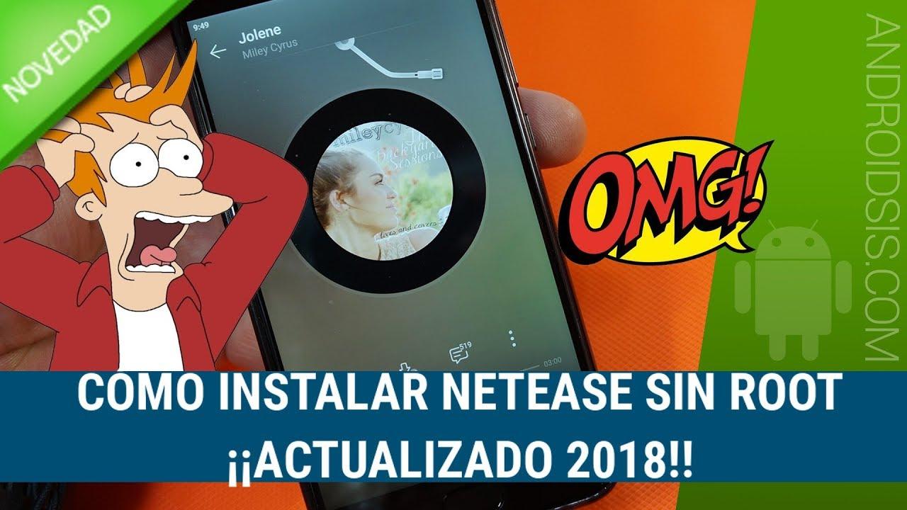 Instalar Netease APK 2018