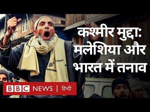 Kashmir पर Malaysia ने Pakistan का साथ दिया, India से तनाव बढ़ा? (BBC Hindi)
