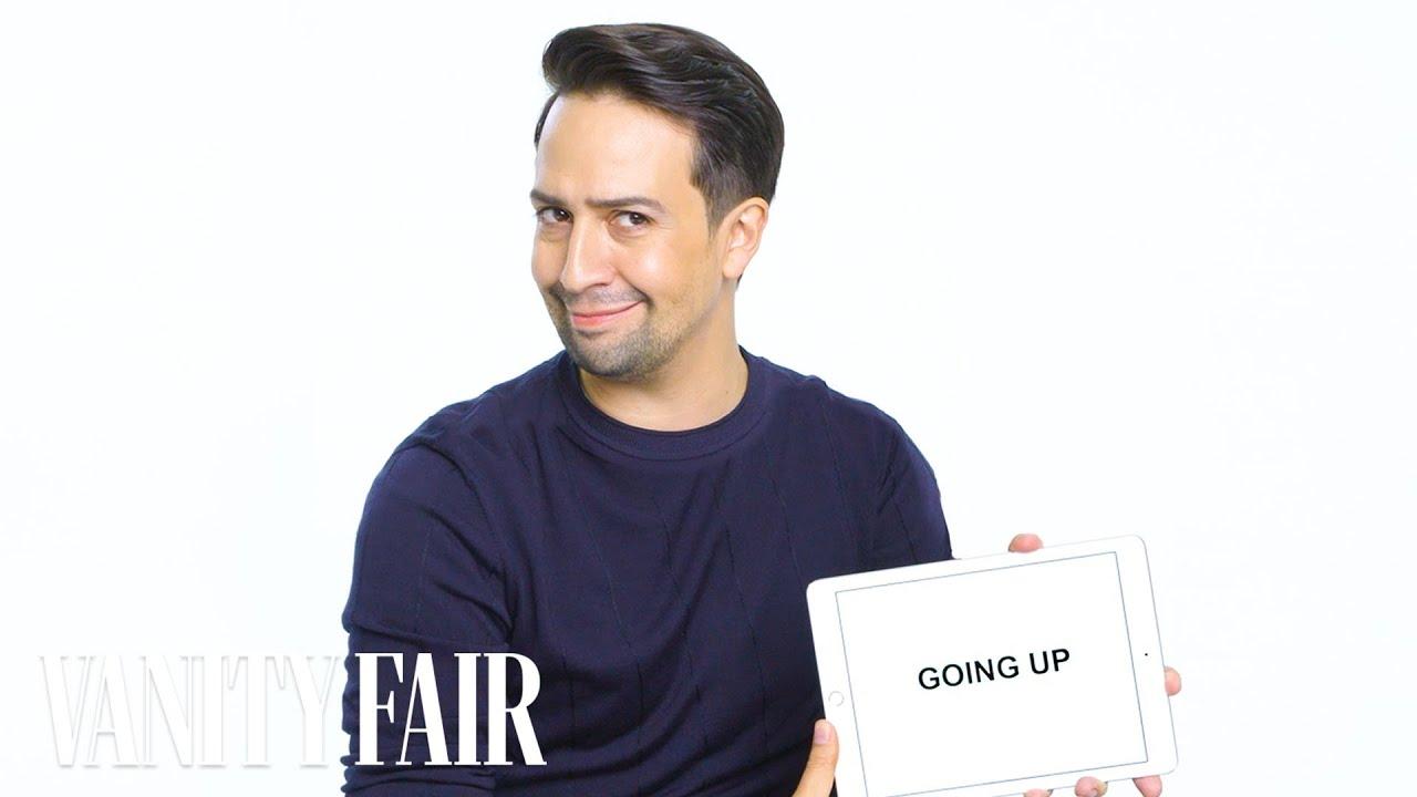 Lin-Manuel Miranda Teaches You Broadway Slang   Vanity Fair