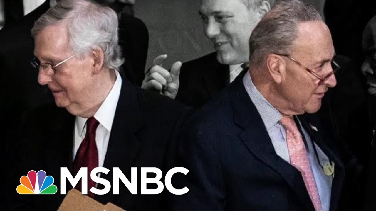 McConnell And Schumer In A Stalemate Over Trump Impeachment Trial | The 11th Hour | MSNBC