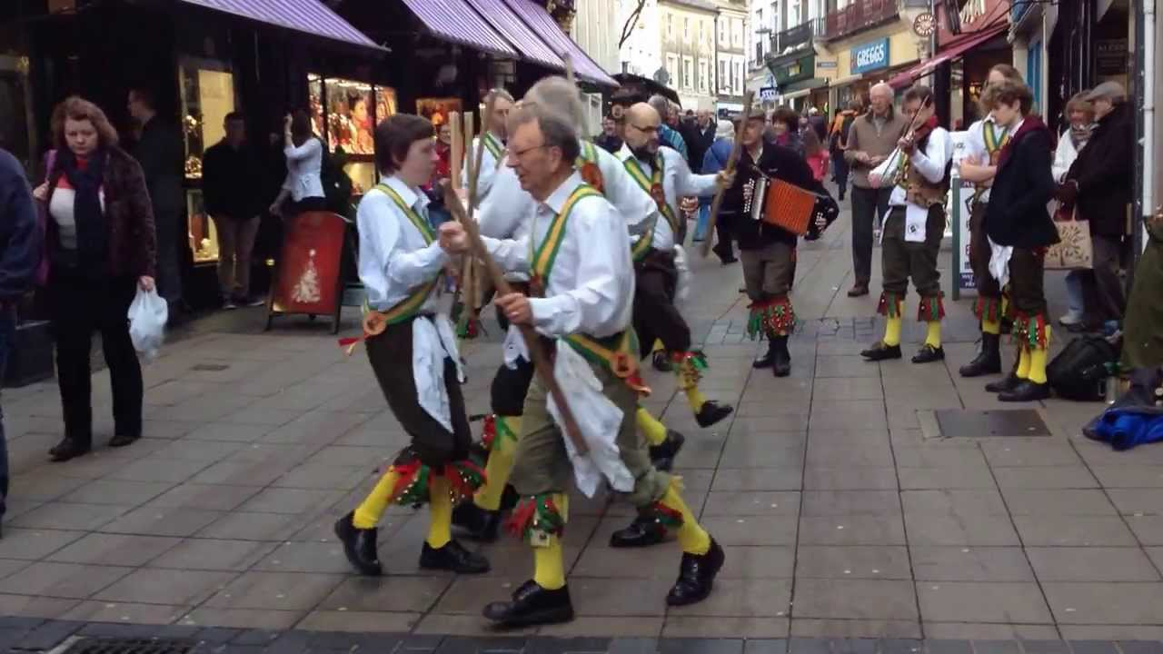 Morris Dance - Traditional English Folk Dancing & Music