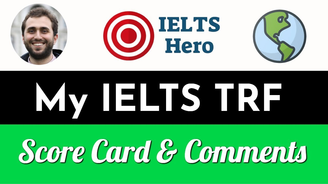 My IELTS Results? TRF Analysis