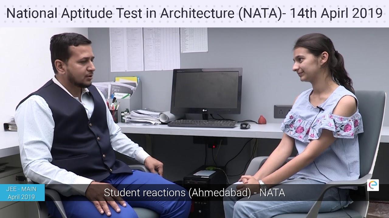 NATA April 2019, Students reaction (Ahmadabad)