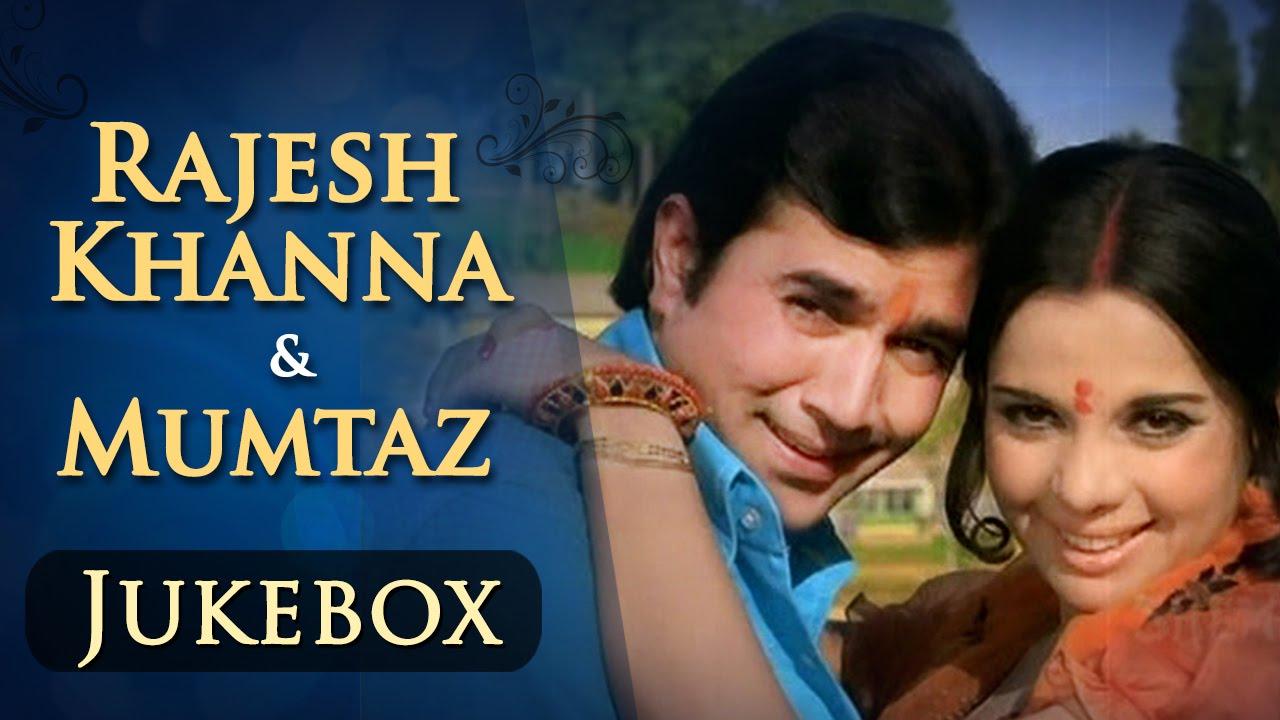 Rajesh Khanna & Mumtaz Songs JUKEBOX (HD) | Evergreen Hindi Songs | Best Bollywood Old Songs