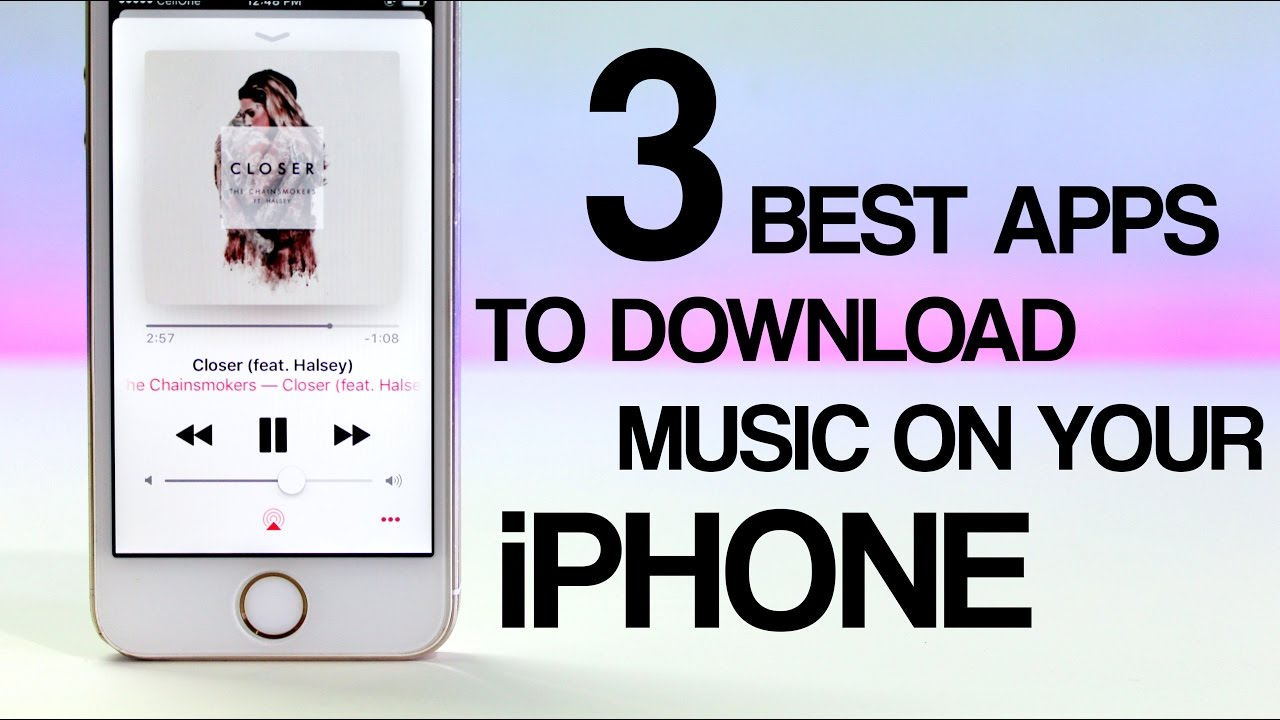 TOP 3 Best Apps to Download Music on Your iPhone (OFFLINE MUSIC)   Working!! #3