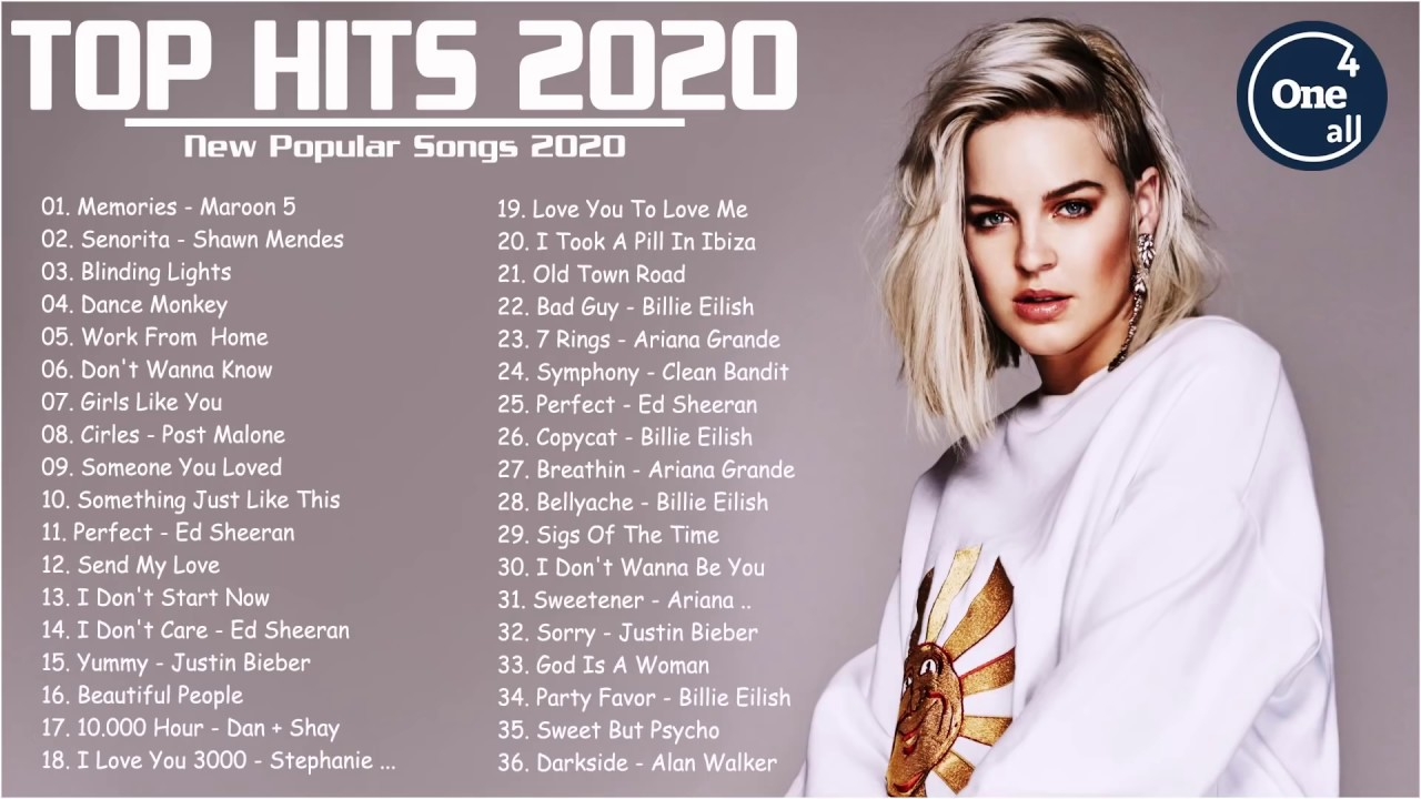 Top Hits 2020 ? TOP 40 Popular Songs Playlist 2020 ? Best English Music Collection 2020