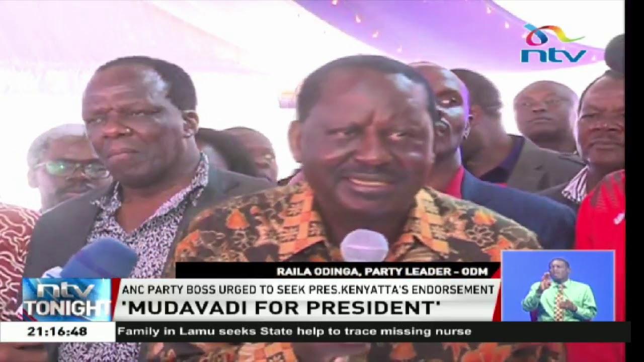 Various Western Kenya leaders endorse Musalia for president