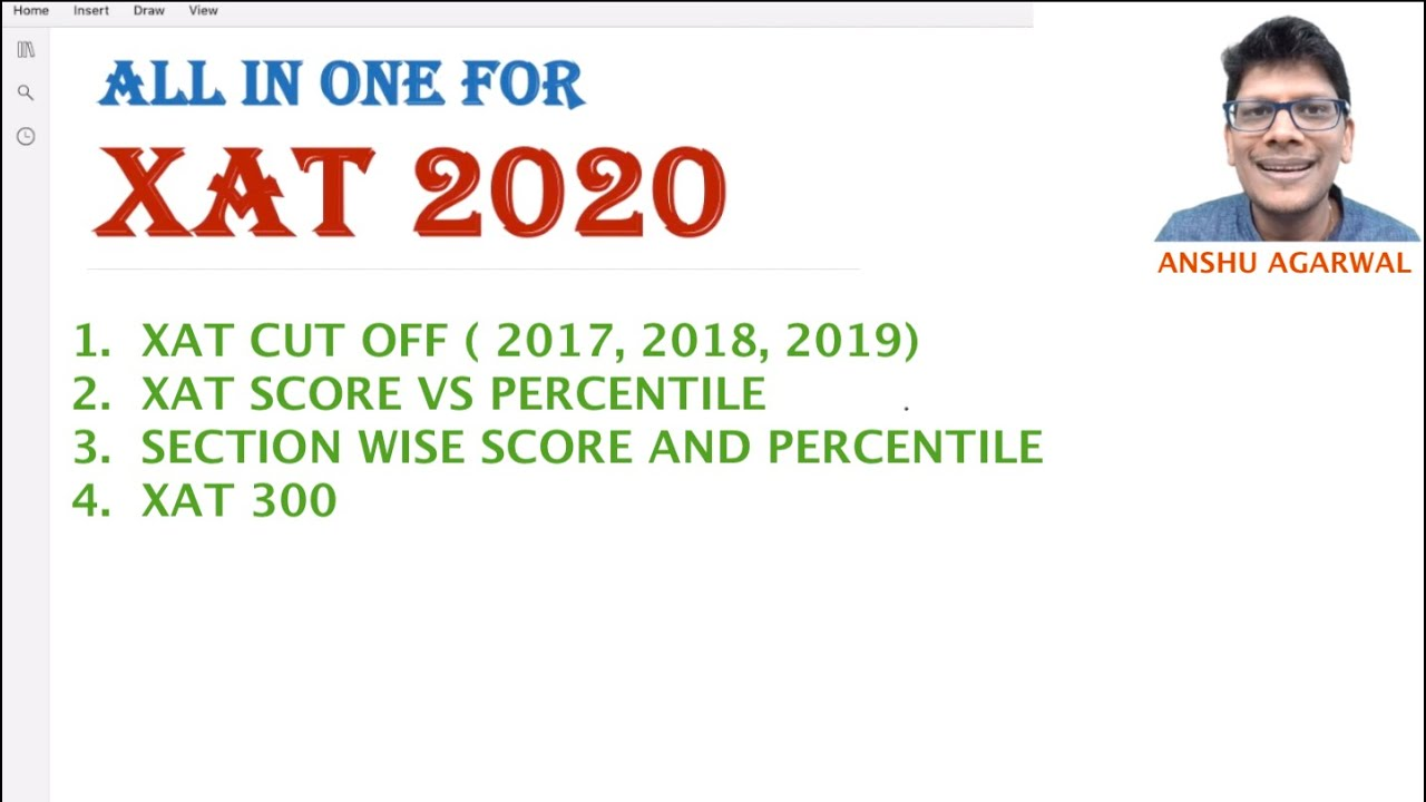 XAT 2020 STRATEGY | XAT 300 | All in One Video