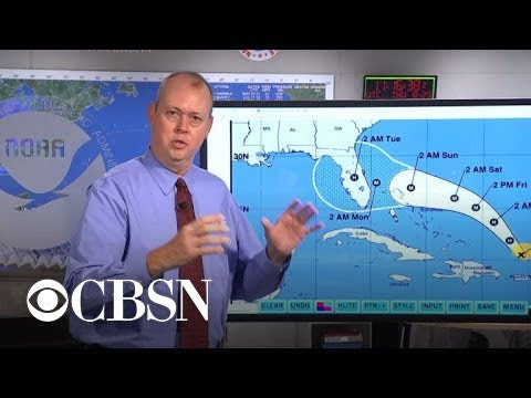 """We're talking a major hurricane"": Dorian takes aim at Florida"