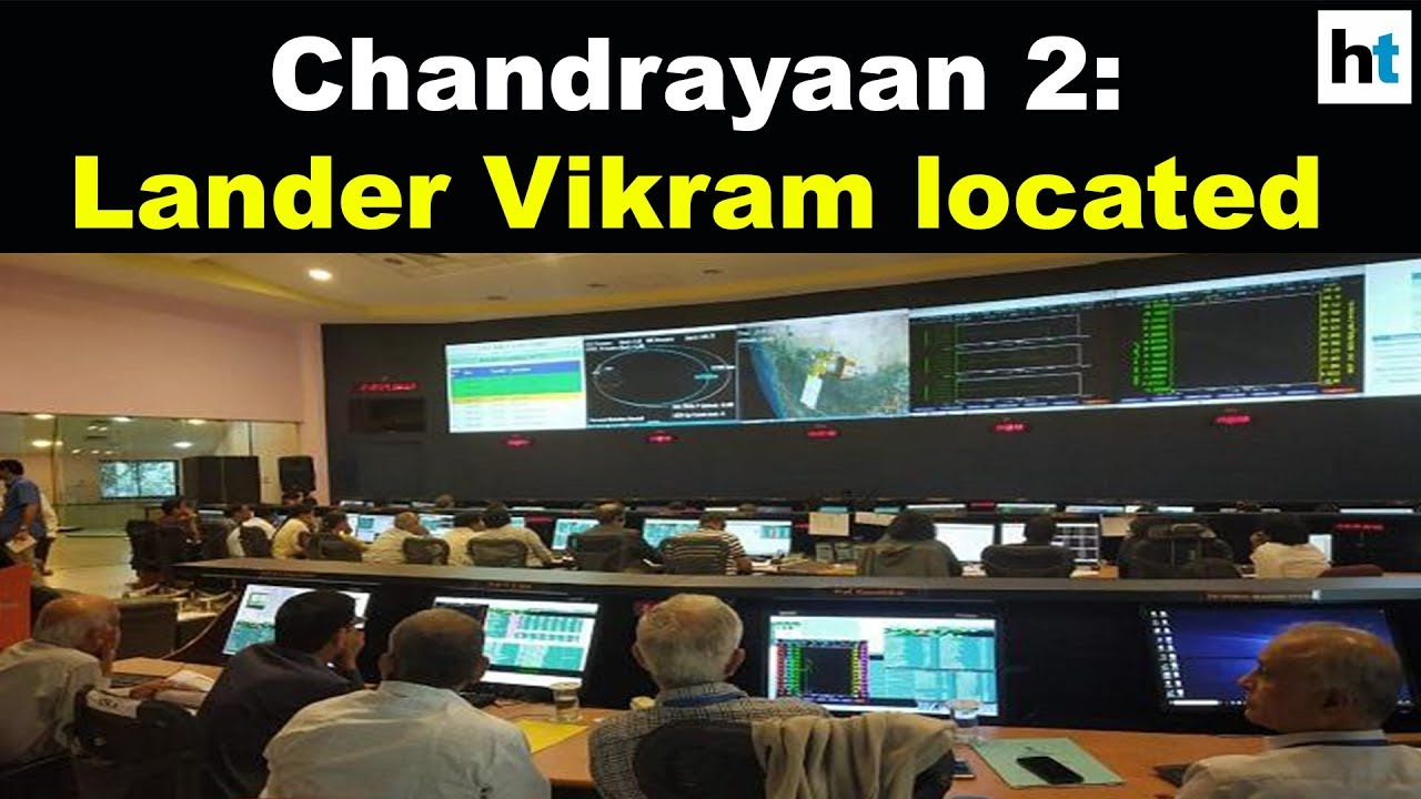 Chandrayaan 2: Lander Vikram located, attempt on to establish contact