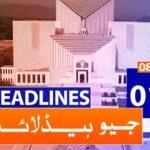 Geo Headlines 01 PM | 8th January 2020