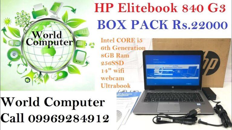 HP EliteBook 840 G3 Notebook PC || Refurbished Laptop || Imported Laptop || World computer