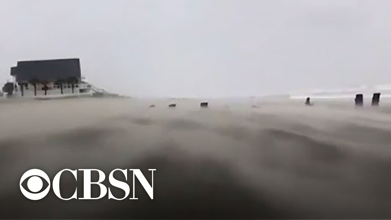 Hurricane Dorian threatens North Carolina with dangerous storm surge