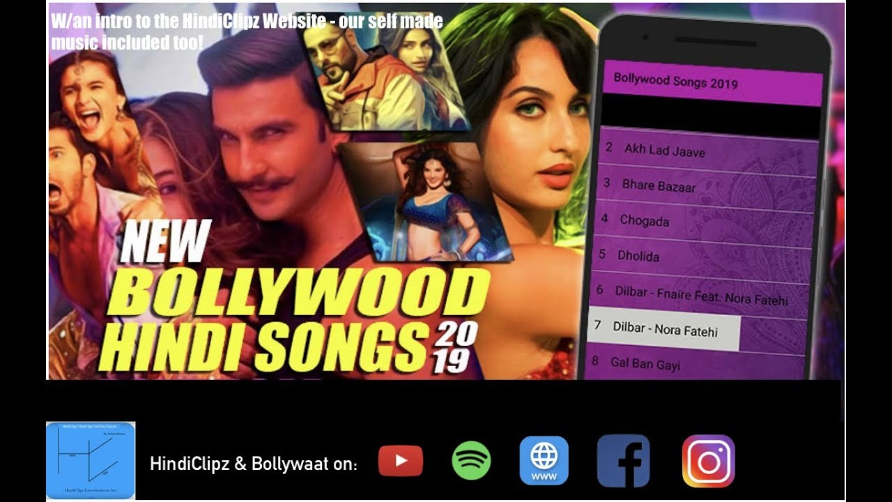 Latest Bollywood Music 2019 - Hindi/Punjabi Music Made By HindiClipz Music - A Guide to Our Website