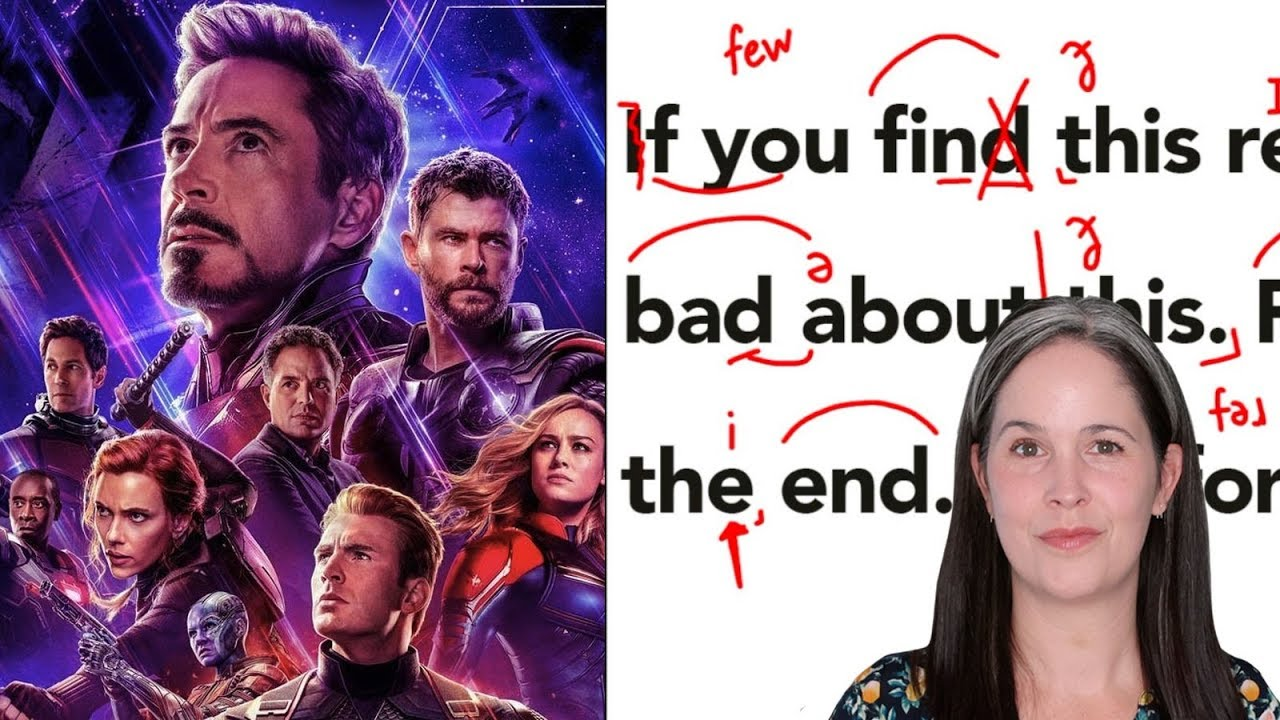 Learn English with Movies – Avengers: Endgame   LEARN ENGLISH Movies   Movies for Learning English