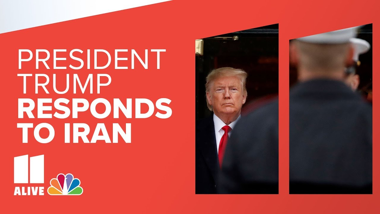 President Trump addresses nation after Iran response | 11Alive News Special Report